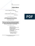 Brief of Coalition of Arizona/New Mexico Counties for Stable Economic Growth, as Amicus Curiae Supporting Petitioner's Petition for Writ of Certiorari, City of Tombstone v. United States, No. 12-1069 (Mar. 29, 2013)