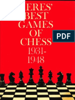 PAUL KERES Fred Reinfeld - Keres' Best Games of Chess 1931-1948