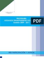 Juzgados transparentes 2011