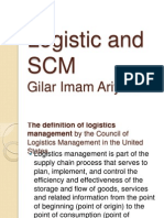 Logistic and SCM