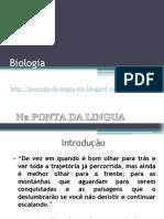 slidebiologianapontadalingua-120331185457-phpapp01