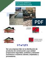 Productos SWEPCOexposicion