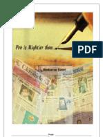 Print Media  MMS (RIMSR-MUMBAI)