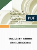 Marketing Mix, Caso de Estudio. Sonia Verjel.