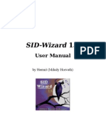 SID Wizard 1.4 UserManual