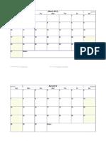 2013 Word Calendar