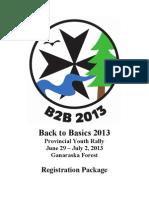 B2B Camp Registration Form - Final Fillable