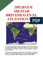 DESPLIEGUE MILITAR BRITÁNICO EN EL ATLÁNTICO SUR