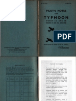 Typhoon MkIA-1B Pilot Notes