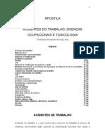 Apostila Doencas Ocupacionais e Toxicologia 2011