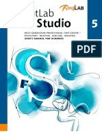 FontLab Studio 5 Manual Win
