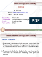 1) Introduction to Organic Chemistry chem 32(up manila)