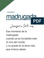 Poema Sabina
