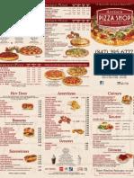 full menu 2013