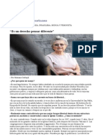 Entrevista a Ivone Gebara 1