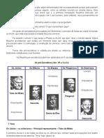 Os filósofos pré socráticos