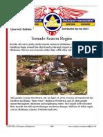 Tornado Season Begins