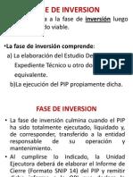 Fase de Inversion