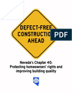 2013 NJA Construction Defects Briefing Book