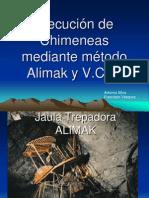 Ejecucion de Chimeneas Alimak y VCR