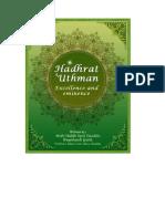 Zun'noraiyn Hadhrat Uthman (Radhi Allah Anhu) [English]
