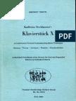 Henck - Karlheinz Stockhausen's Klavierstucke X