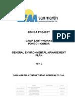 Camp Earthworks Pgma San Martin - Conga Rev01