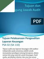 Tujuan Dan Tanggung Jawab Audit
