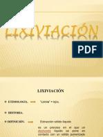 METALURGIA - LIXIVIACIÓN