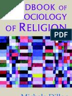 Handbook of the Sociology of Religon