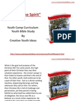 Youth Camp - Fruit Of the Spirit