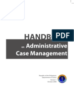 DOJ Case Management Handbook