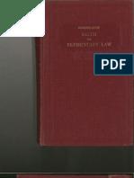 Handbook on Elementary Law