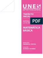 Matemática básica (MD)