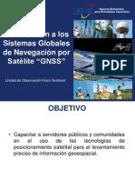 Presentación Curso GNSS