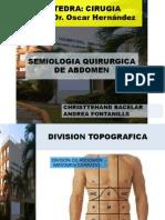 Semiologia Quirurgica Del Abdomen