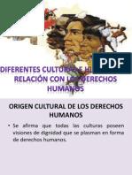 Diferentes Culturas en Relacion Con Los Dh