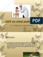 AVC en edad pediátrica para clínica A