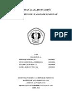 Leaflet Teknik Menyusui Yang Benar