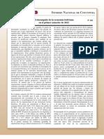 Coy 169 - El desempeño de la economía boliviana en el primer semestre de 2012