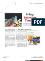 8_Tuneup_Tablesaw