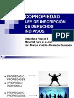 Derechos Reales-coopropiedad-ley de Inscripcin de Derechos Indivisos