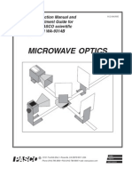 Basic Microwave Optics System Manual WA 9314B