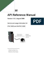 i8093w API Reference Manual v1.0.1