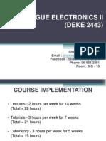 Deke 2443 Analogue Electronics (Intro)