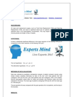 Statistics-hypothesis Test Assignment Help