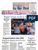 The Daily Tar Heel for April 5, 2013