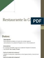 Restaurante LA COLPA