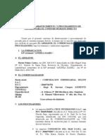 Corporacion Empresarial Delfin Sac ( Convenio )