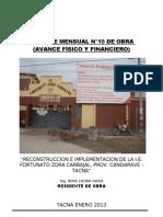 INF.MENS.Nº10.ENERO2013_IE.ZORA.CANDARAVE-RCH_RES-IMPRIMIR
